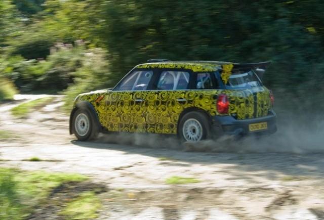 MINI Countryman trece testele pentru WRC