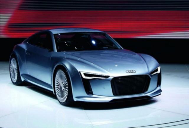Audi prezinta la Paris conceptul R4 e-Tron roadster