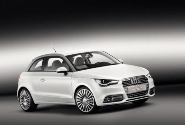 Audi A1 e-tron incepe testele la Munchen