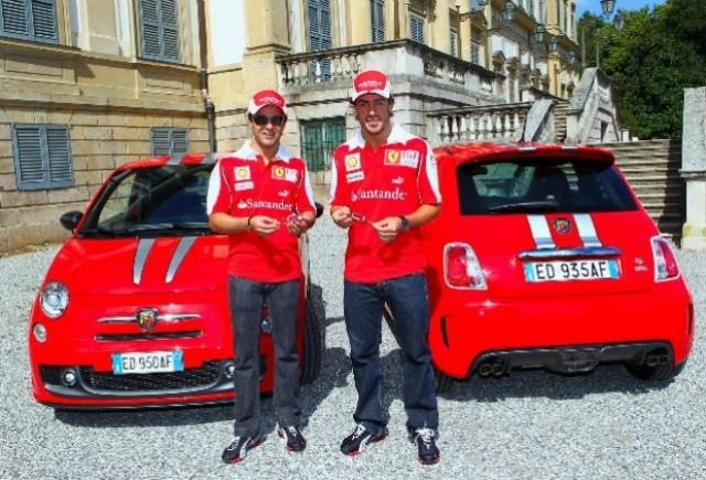 Massa si Alonso au primit propriul Abarth 695 Tributo