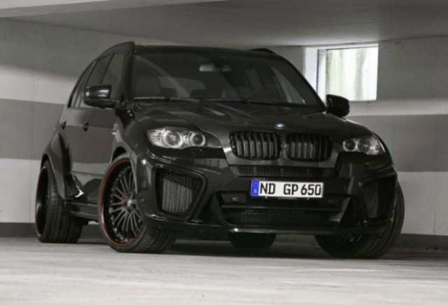 BMW M5M tunat de G Power