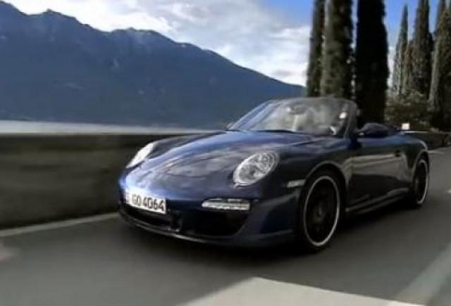 VIDEO: Primul clip cu noul Porsche Carrera GTS
