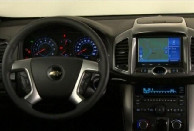 Iata primele imagini cu interiorul noului Chevrolet Captiva!