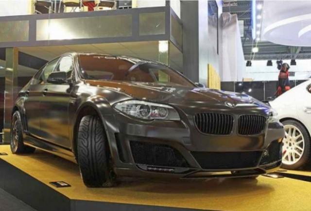 VIDEO: BMW Seria 5 F10 by Lumma