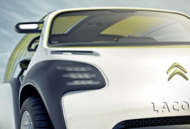 Conceptul Citroen Lacoste va debuta la Paris!