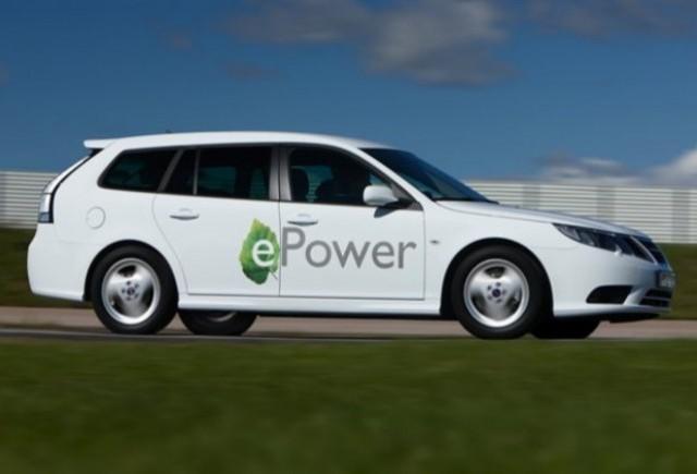 Saab prezinta primul model electric