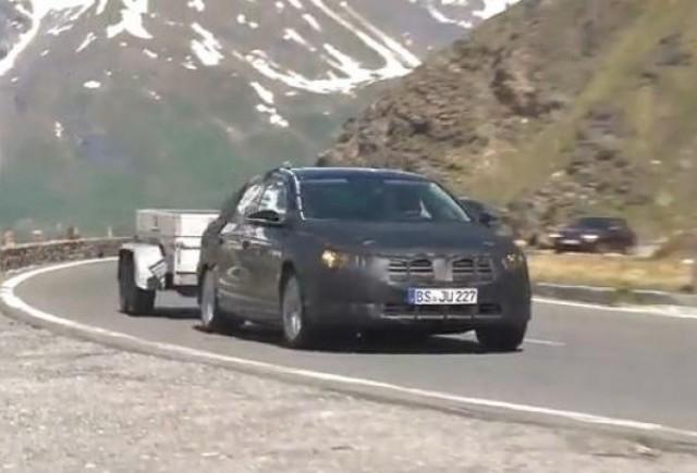 VIDEO: VW Passat facelift vine la Paris!