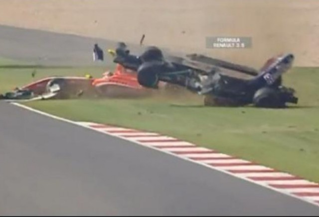 VIDEO: Accidentul lui Daniel Ricciardo de la Silverstone
