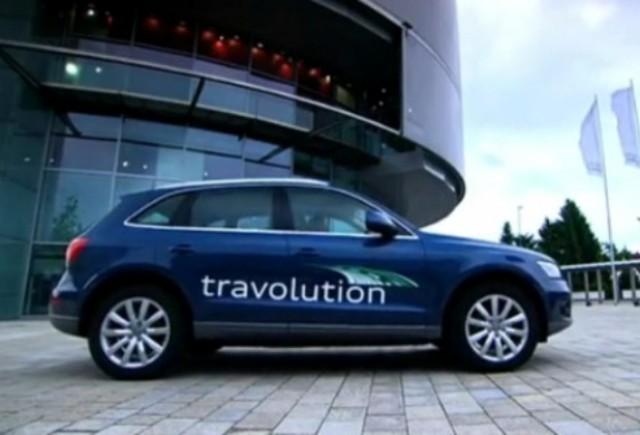 VIDEO: Noul sistem Audi Travolution