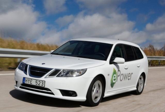 Saab 9-3 ePower va fi prezentat oficial la Paris