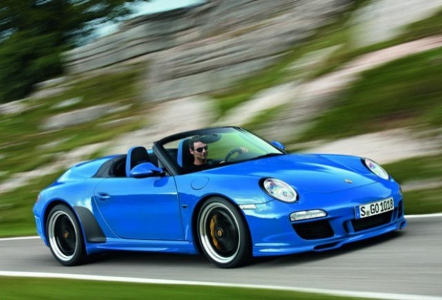 OFICIAL: Noul Porsche 911 Speedster
