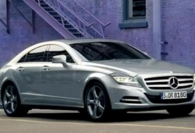 VIDEO: Promo la Mercedes CLS