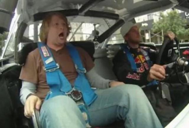VIDEO: Cursa vietii intr-un taxi Nascar in centrul orasului Chicago