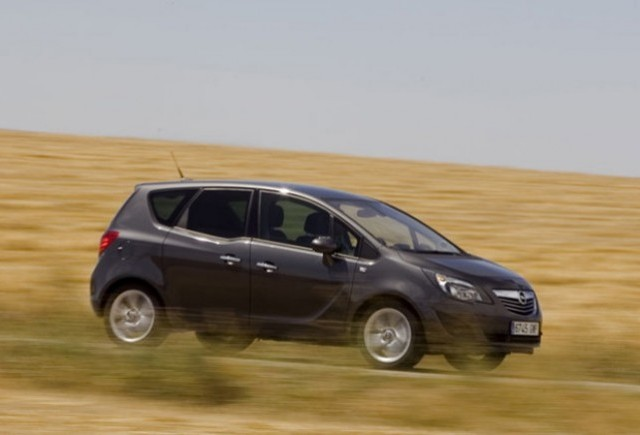 Porti deschise la Opel pentru noul Meriva