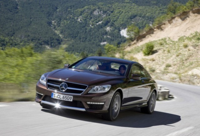 Mercedes prezinta noul CL 65 AMG facelift