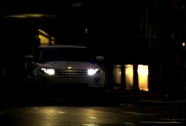 VIDEO: Primul promo cu noul Range Rover Evoque