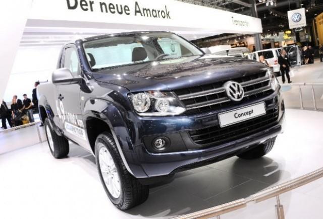 Volkswagen a prezentat noul Amarok Bluemotion!