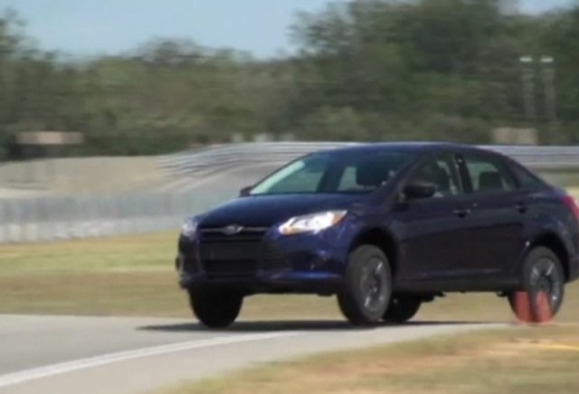VIDEO: Noul Ford Focus surprins pe circuit