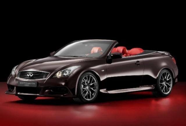 Infiniti prezinta noul concept Infiniti Performance Line G Cabrio