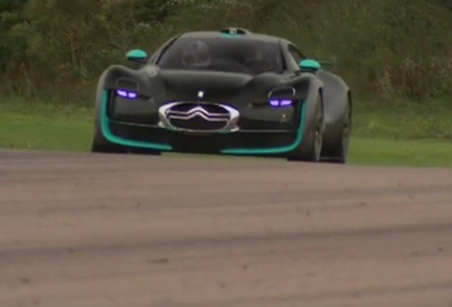 VIDEO: Autocar testeaza conceptul Citroen Survolt