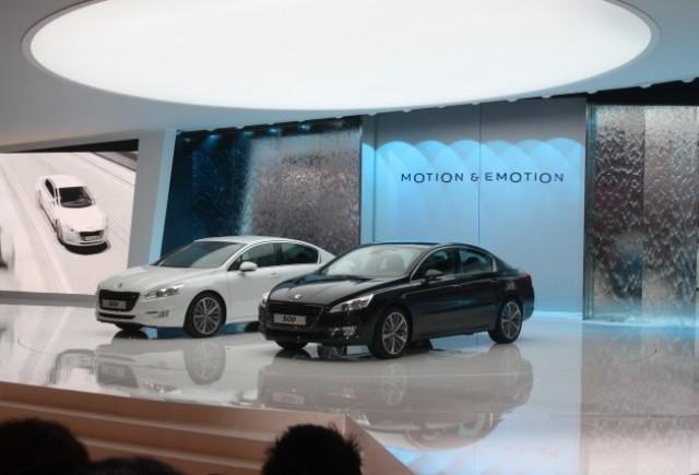 PARIS LIVE: Noul 508 este vedeta standului Peugeot