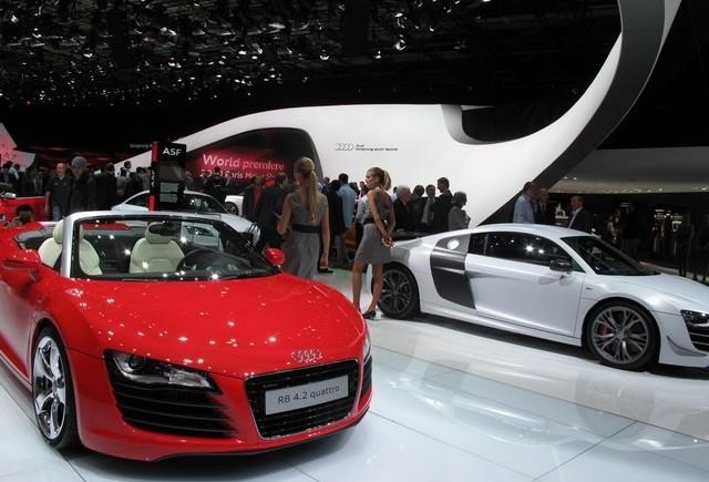 Paris Live: Audi rupe gura targului!