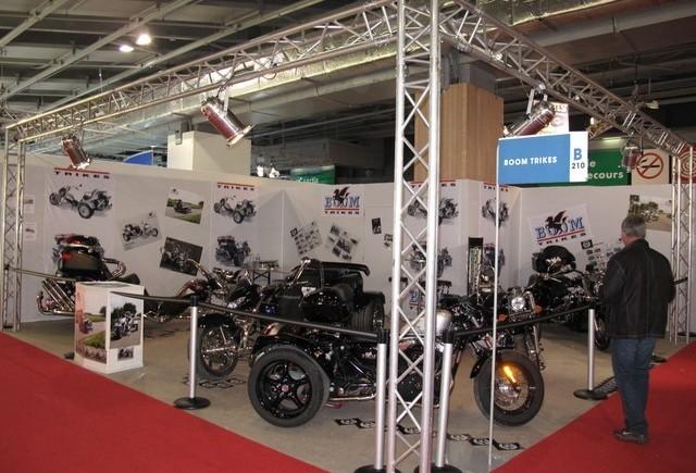 Paris Live: Standul Boom Trikes
