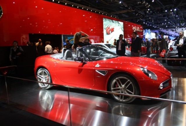 PARIS LIVE: Standul Alfa Romeo