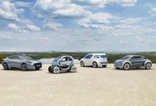 Renault la Salonul Auto de la Paris