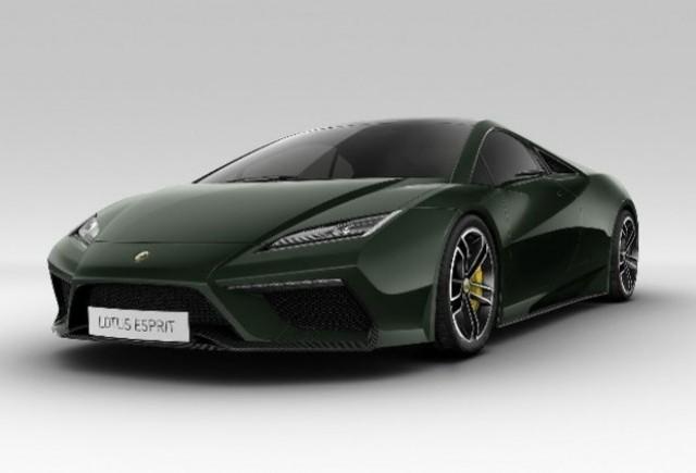 Iata noul Lotus Esprit!