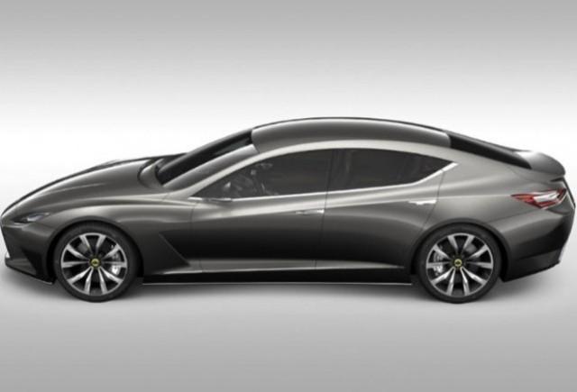 Lotus Eterne, noul rival al modelului Panamera