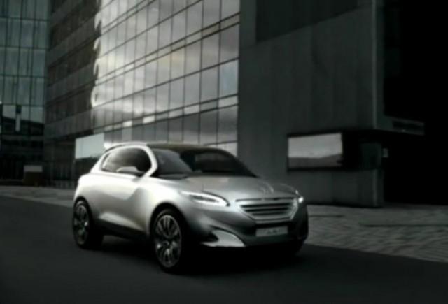 VIDEO: Conceptul Peugeot HR1 in actiune