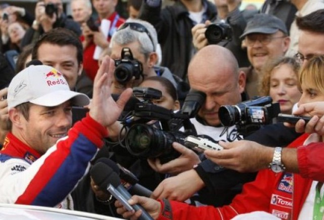 WRC: Loeb a castigat al saptelea titlu mondial consecutiv!