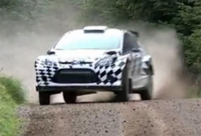 VIDEO: Iata noul Ford Fiesta RS WRC!