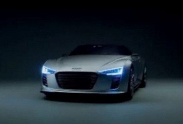 VIDEO: Conceptul Audi e-tron Spyder prezentat in detaliu
