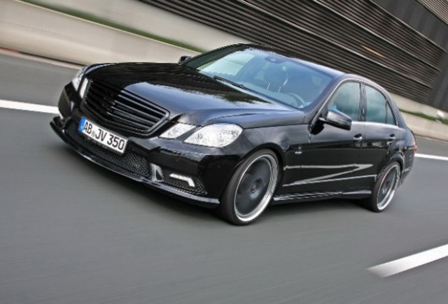 Mercedes E350 CDI tunat de VATH