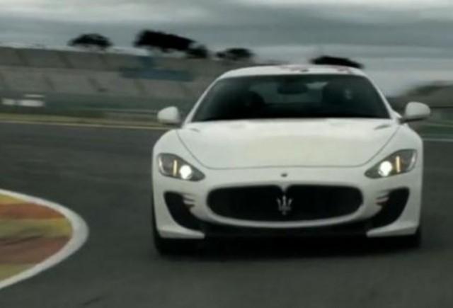 VIDEO: Noul Maserati Granturismo MC Stradale in actiune