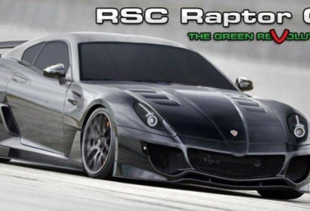 RSC Raptor GT, un supercar cu motor rotativ