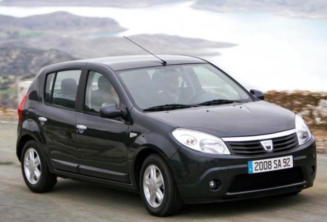 Dacia livreaza 180 de Sandero catre compania Borsec