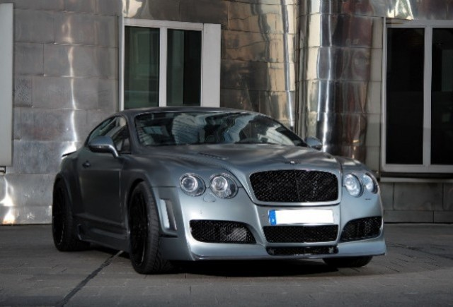 Bentley Continental GT Supersports tunat de Anderson Germany