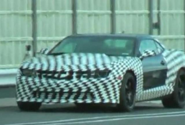 VIDEO: Chevrolet Camaro Z28, spionat la Nurburgring