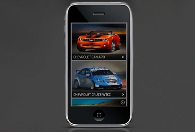 Chevrolet a lansat o aplicatie pentru iPhone