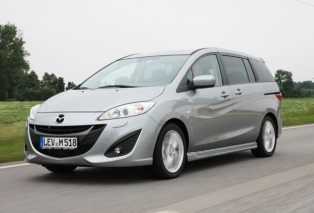 Noul Mazda5 va fi lansat in Romania in 2011