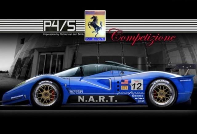 VIDEO: Versiunea de curse Ferrari P4/5 Competizione