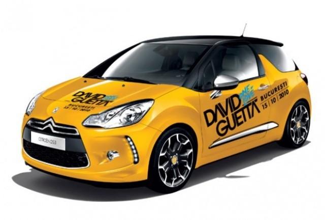 Citroen DS3, masina oficiala a concertului David Guetta