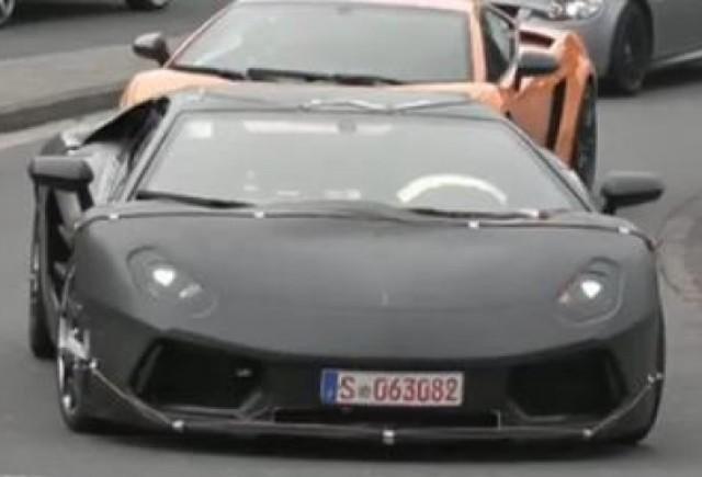 VIDEO: Lamborghini Jota, spionat din nou
