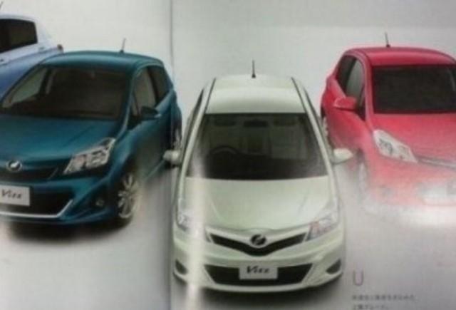 Noi imagini cu viitorul Toyota Yaris!