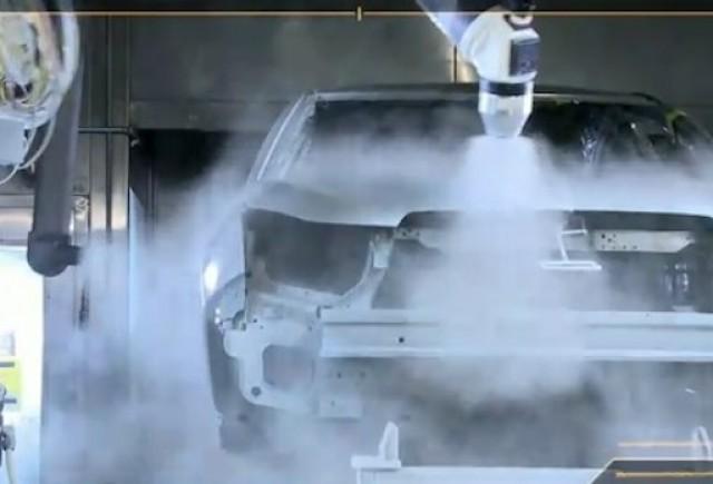 VIDEO: Procesul de vopsire a lui Chevrolet Cruze