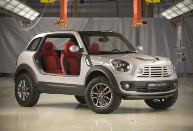 Mini va alege intre Moke si Canyon Coupe pentru un nou model