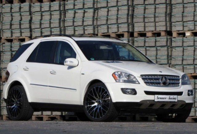 Mercedes ML500 4Matic tunat de Senner